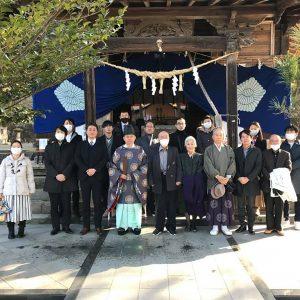 松尾神社にて