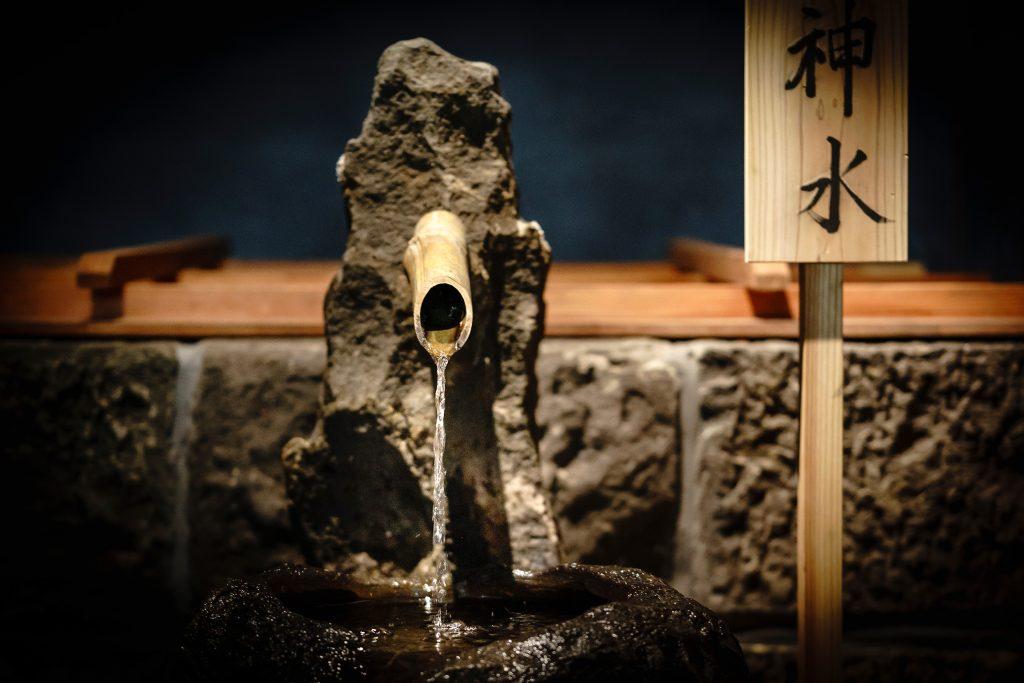 神社の敷地にあった井戸